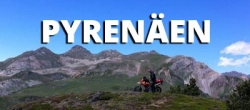 Motorradtransport - Pyrenäen